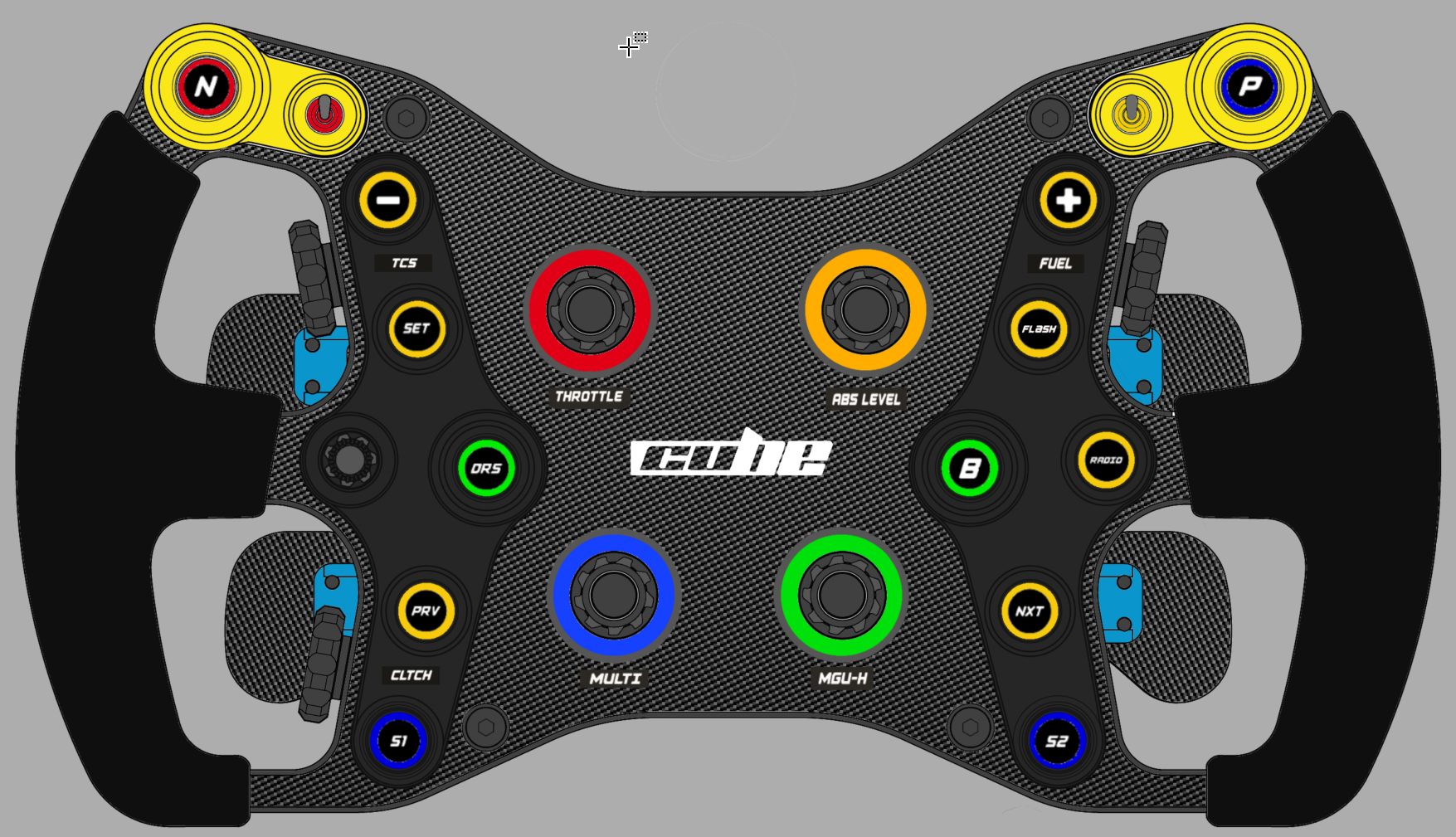 Cube Controls - Formula Steering Wheel Pro | RevolutionSimRacing